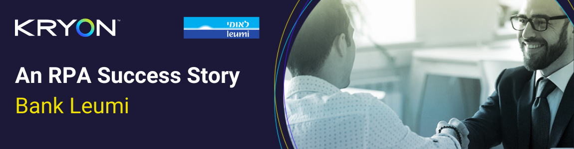Bank Leumi RPA Success Story
